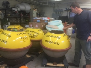 Research buoys at Scripps